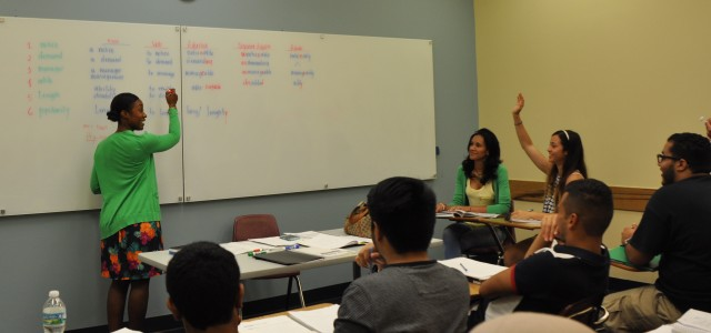 The Intensive English Program is an academic preparation course designed to help international students make the transition to American academic life.